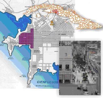 Centro Histórico Urbano de Cienfuegos.