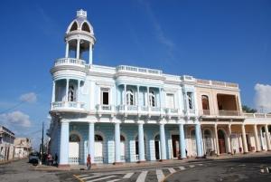 Palacio de Ferrer, actual Casa de la Cultura en Cienfuegos