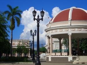 Parque José Martí, centro de una ciudad