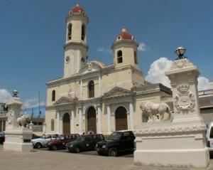 Catedral de la ciudad cubana de Cienfuegos