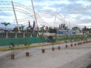 Estrenan obra arquitectónica en la plaza polivalente de Cienfuegos