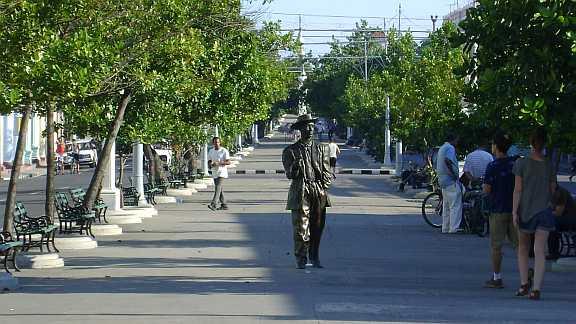 Exhibit of Cuban Heritage Sites in Central Cienfuegos