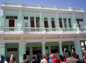 Rescatan en Cienfuegos antiguo Palacio de la Moneda