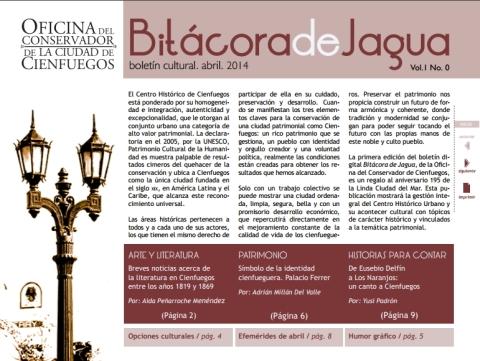 Descasgar Boletín Bitácora de Jagua