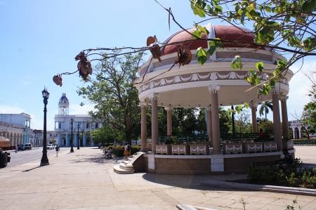 Glorieta del Parque Martí, símbolo de Cienfuegos