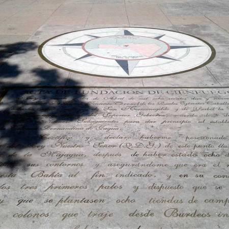 Roseta de Cienfuegos, una rosa náutica que marca la fundación de una ciudad