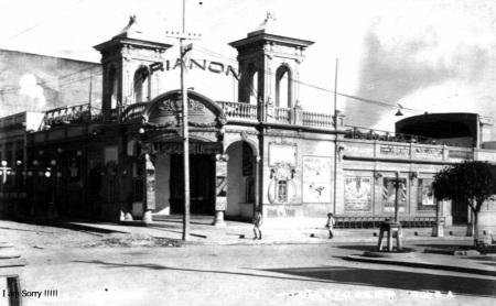El Trianón, uno de los primeros cines de Cienfuegos