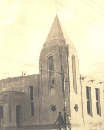 Templo Bautista Nazaret, de Cienfuegos, ejemplo imponente del Art-Decó