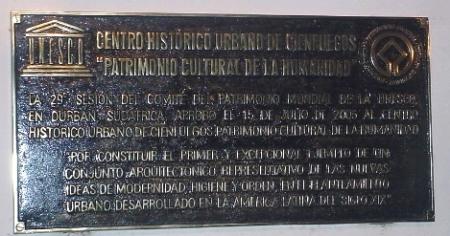 Ya atesora Cienfuegos certificado de la declaratoria como Patrimonio de la UNESCO