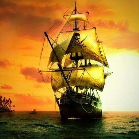 Los piratas en la bahía de Jagua