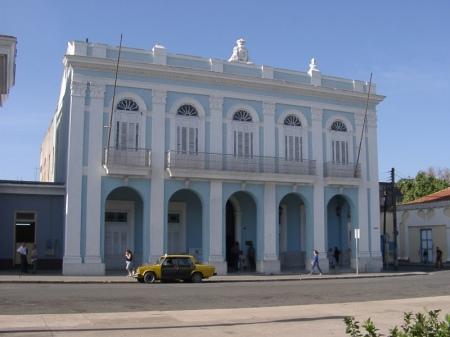 Un Casino convertido en Museo de Cienfuegos