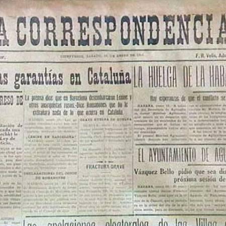 Periódico cienfueguero La Correspondencia, decano de la prensa en el interior de Cuba