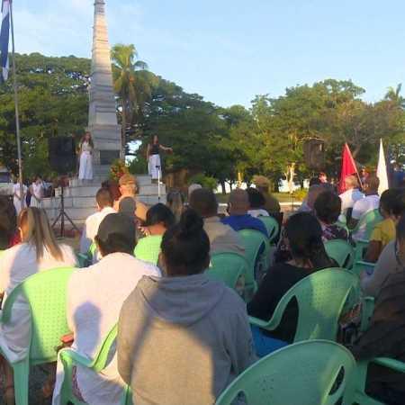 Conmemoran en Cienfuegos aniversario 125 de la Batalla de Mal Tiempo
