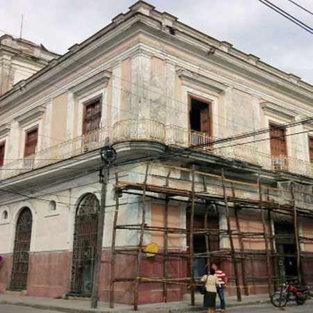 Avanza reconstrucción del Palacio García de la Noceda